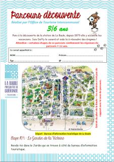 Jeu de piste La Baule - 3/6 ans