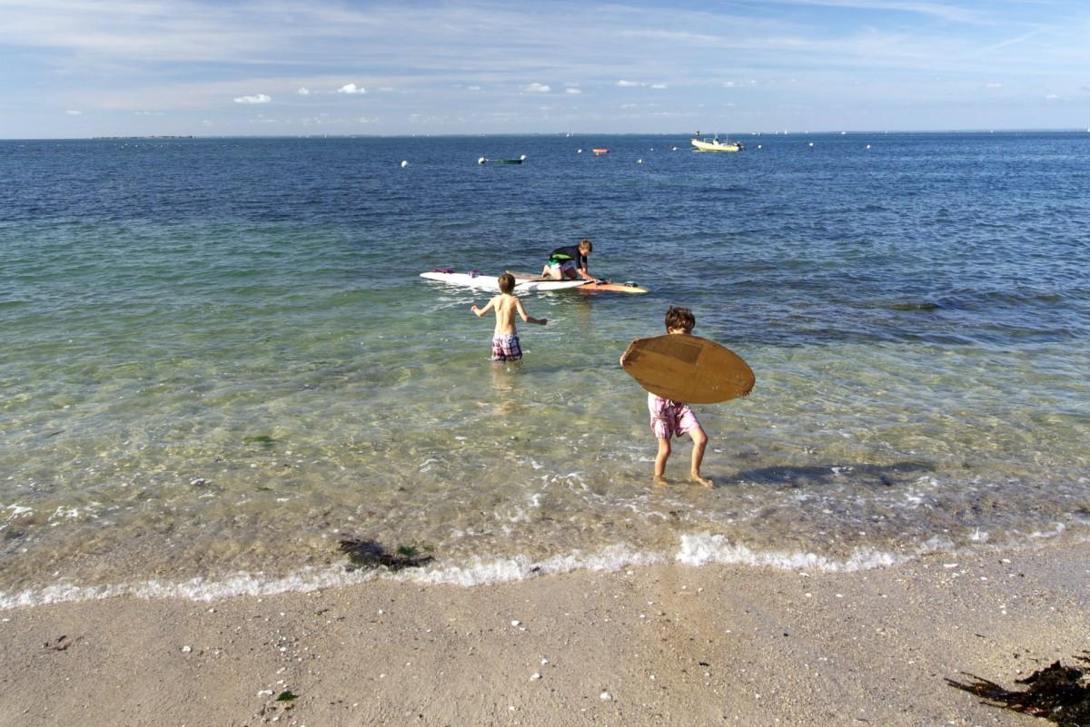 Aller à la plage à Piriac-sur-Mer