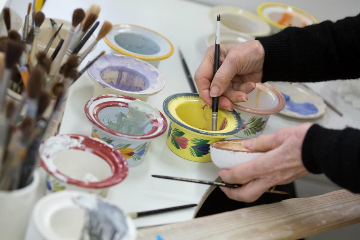 Kunsthandwerk und Galerien