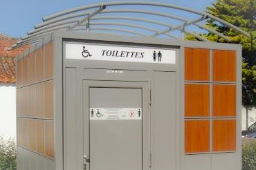 Toilet blocks