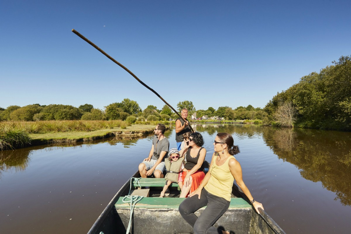 Boat tours in the Brière marsh