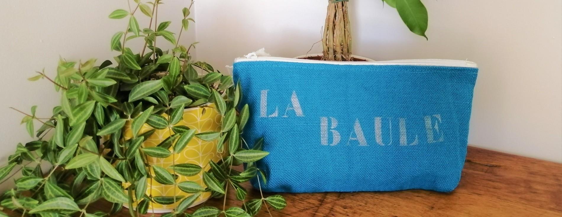 Accessoires - Pochette La Baule - Boutique Office de Tourisme intercommunal La Baule Guérande