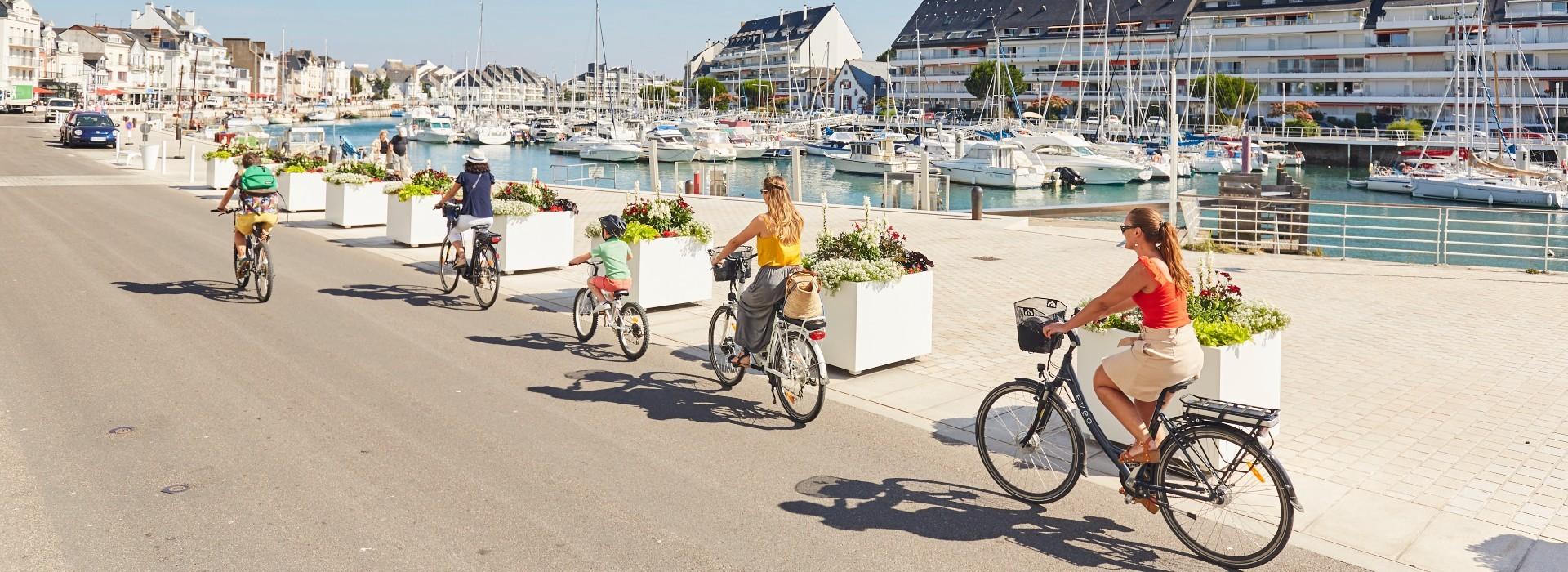 Balade à vélo - Le Pouliguen