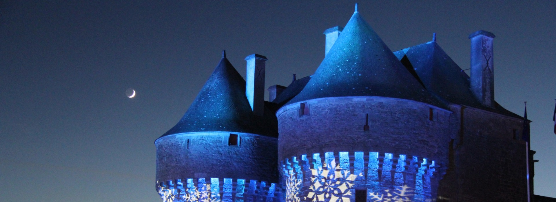 Guérande by light thème Noël 2018 - Mairie de Guérande