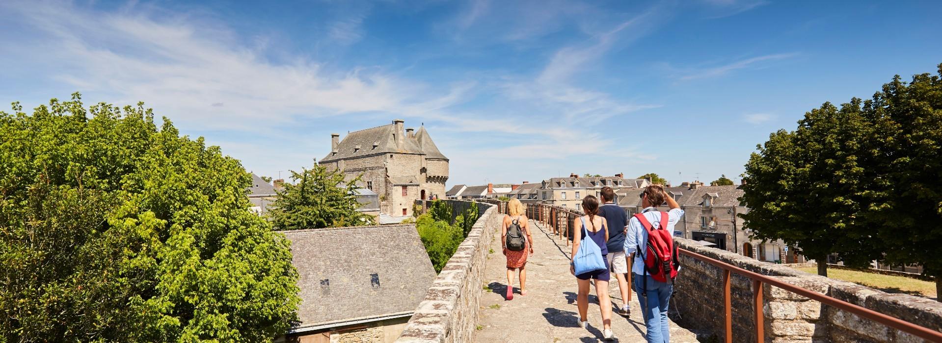 Chemin de ronde des remparts de Guérande - Alexandre Lamoureux