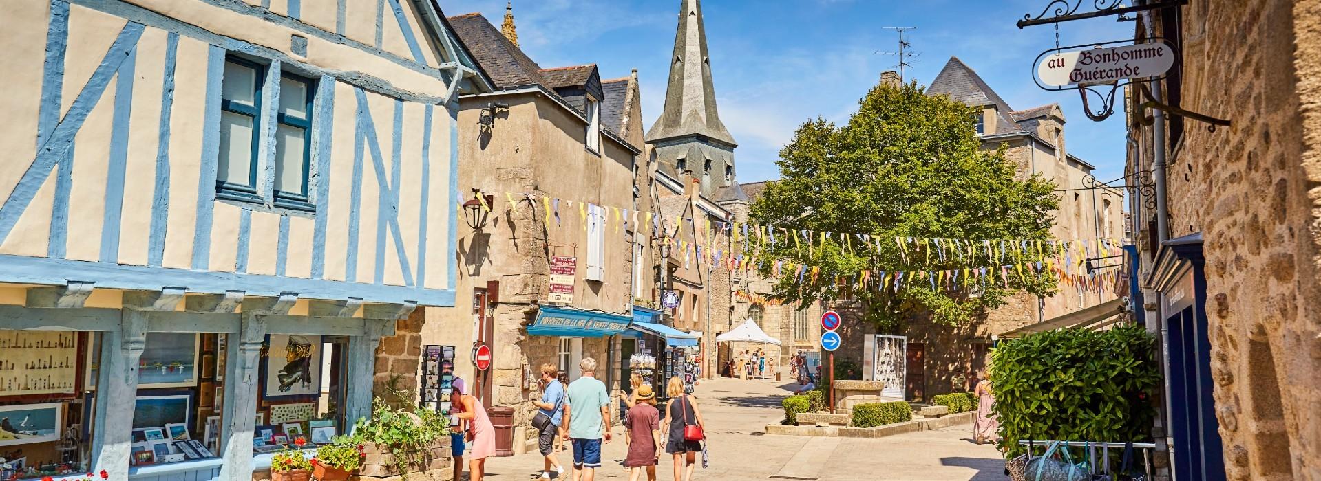 Intra-muros de la cité médiévale de Guérande - Alexandre Lamoureux