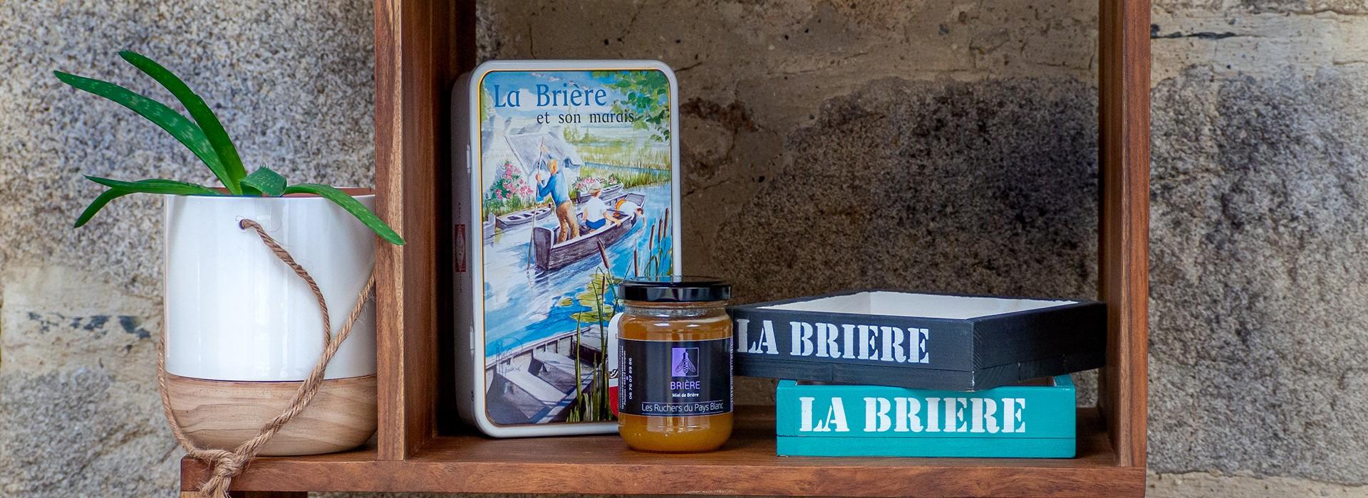 La Boutique de l'Office de Tourisme #SouvenirdeBrière