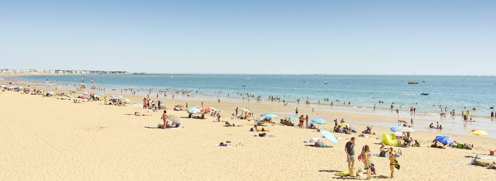 La baie de La Baule depuis la plage - Alexandre Lamoureux