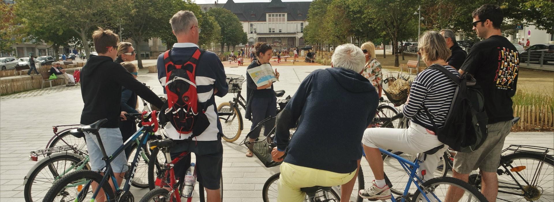 Visite de La Baule à vélo