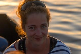 Eléonore, Fremdenführerin und Fan der Bretagne Plein Sud