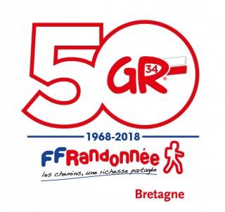 Les 50 ans du GR®34 en Bretagne Plein Sud