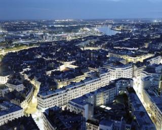 Die Stadt Nantes und ihre Weinberge