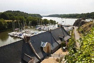Die Ufer der Vilaine