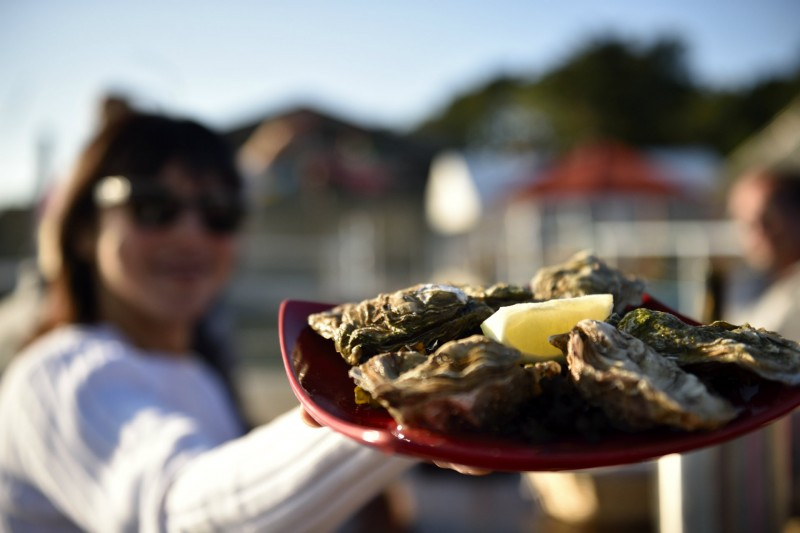 Déguster des huîtres à Kercabellec- CRT Bretagne Gladu Ronan