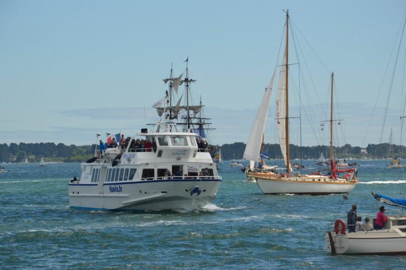 Cap vers Belle-Île-en-Mer, Houat et Hoëdic depuis La Turballe - Navix
