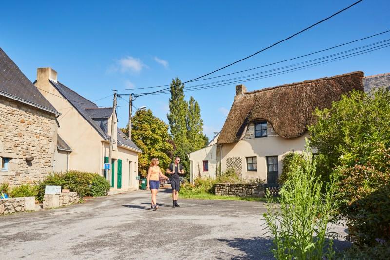 Hiking in Saint-Molf