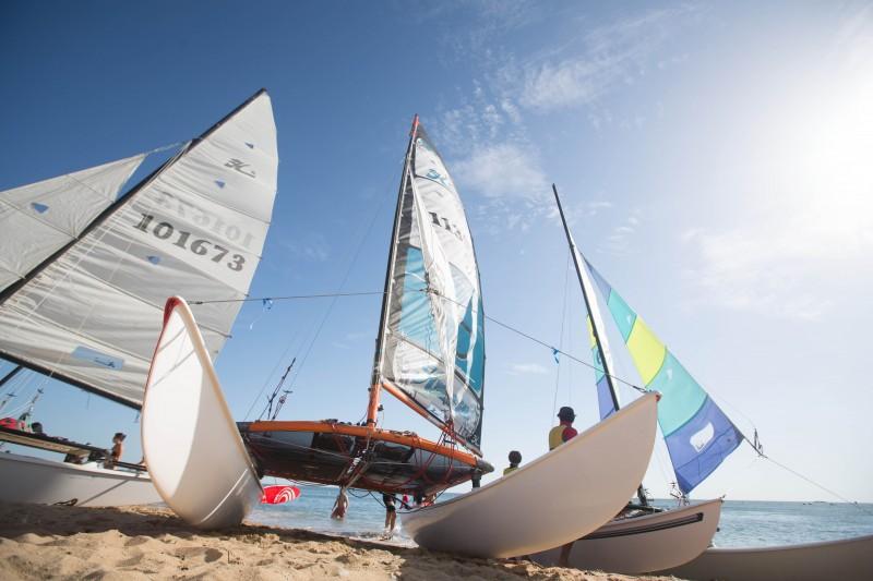 Nautical activities, sailing and sea fishing
