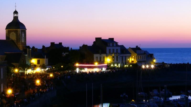 Ambiance festive à Piriac-sur-Mer - le port - Bruno Schoch