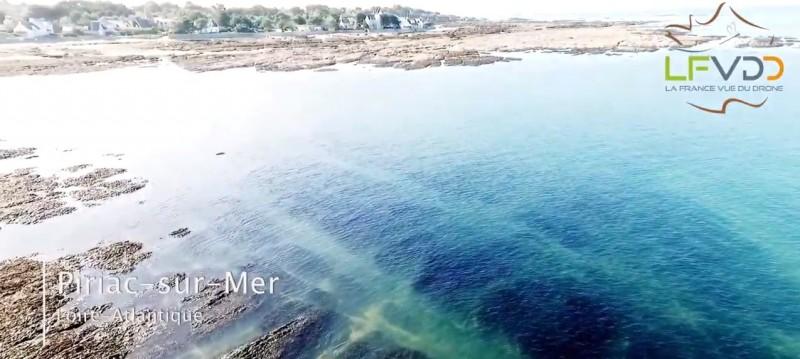 Piriac-sur-Mer vue du drone