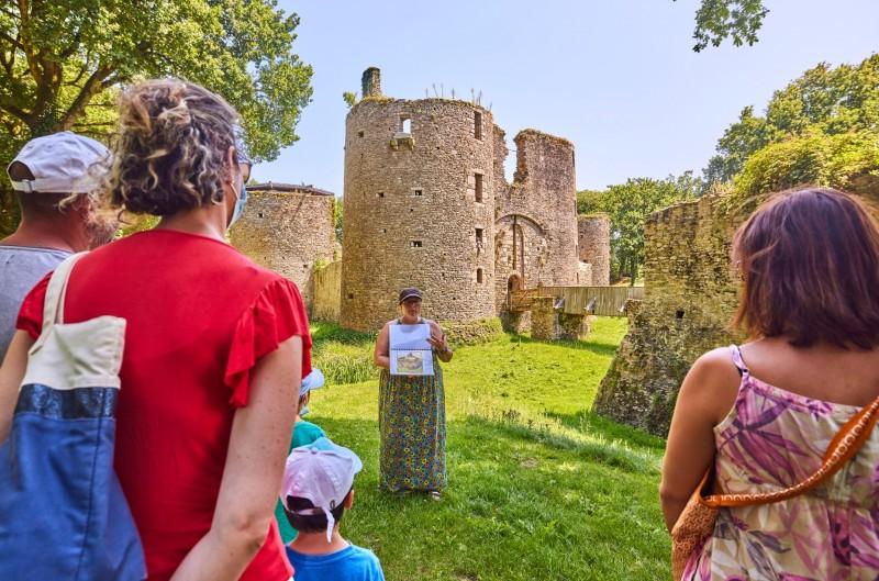 The Ranrouët Castle