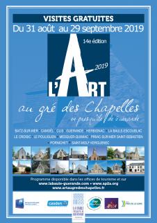 L'Art au gré des Chapelles 2019 en presqu'île de Guérande