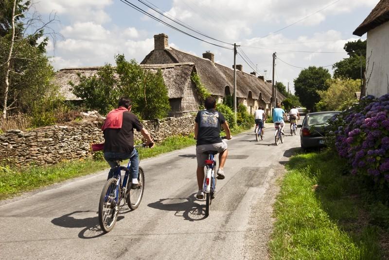 A vélo dans les hameaux de Brière - Kerbourg (St-Lyphard)