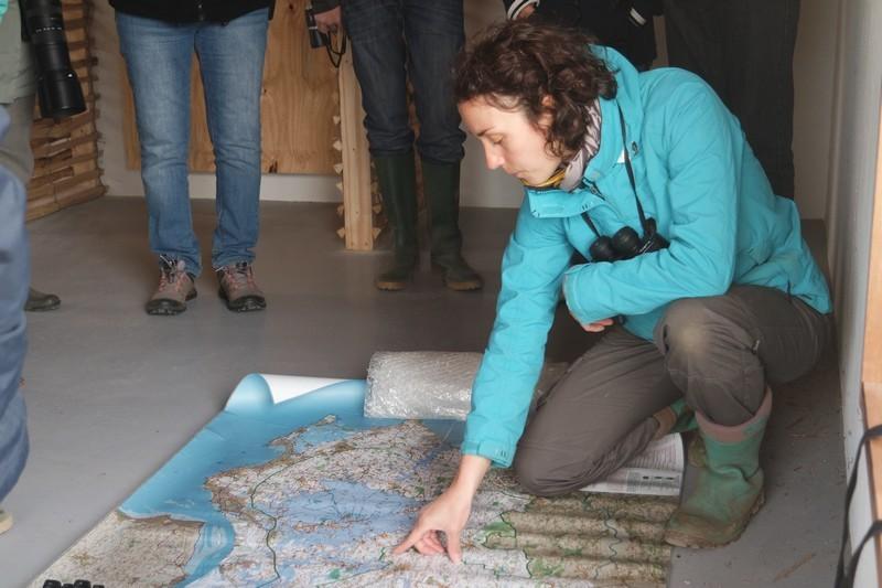 Florence, animatrice environnement au Parc naturel régional de Brière