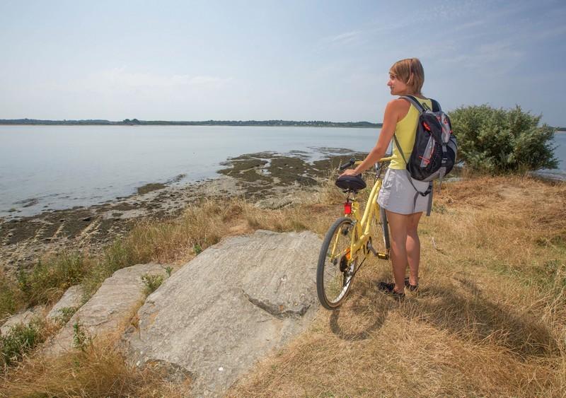 Vélo à Assérac à la Pointe Noire