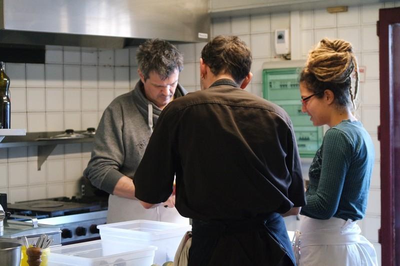 Atelier cuisine au Chaudron La Turballe