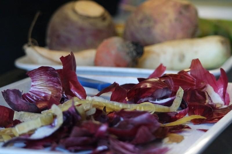 Atelier de cuisine des légumes au Chaudron à La Turballe