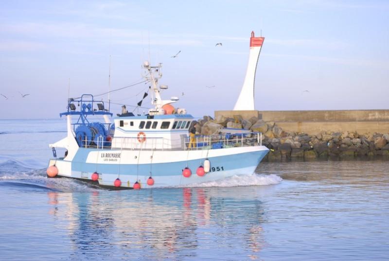 Bateau de pêche à La Turballe