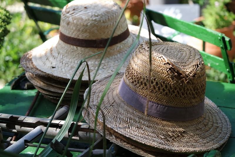 Chapeau de paille - Jardins des Marais à Herbignac
