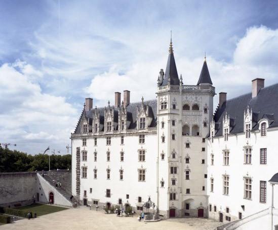 Château des ducs de Bretagne - Nantes vu par Patrick Messina. 2011