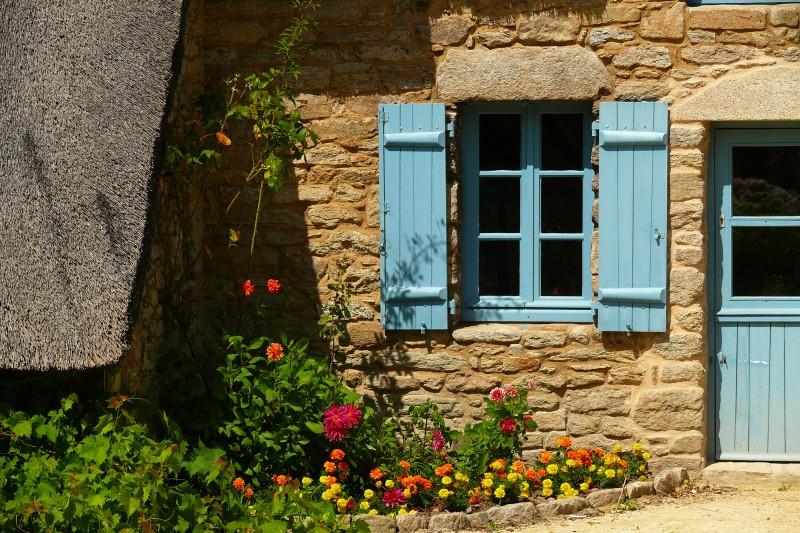 Chaumière de Brière - village de Kerhinet à St-Lyphard