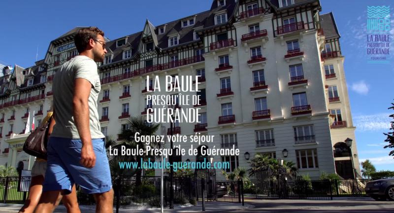 Du 13 mai au 13 octobre 2019, gagnez votre séjour à La Baule et en Presqu'île de Guérande !