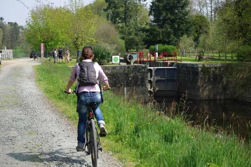 Ecluse de Melmeuf - Canal de Nantes à Brest