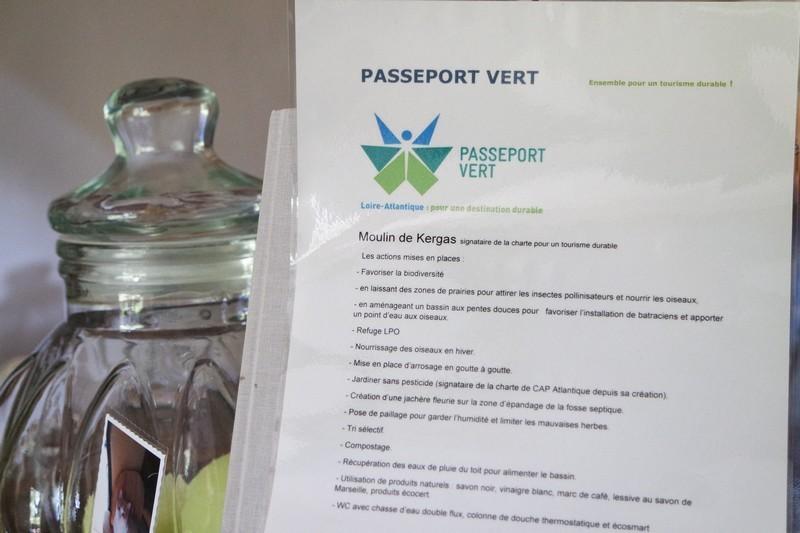 Engagements Passeport Vert Moulin de Kergas