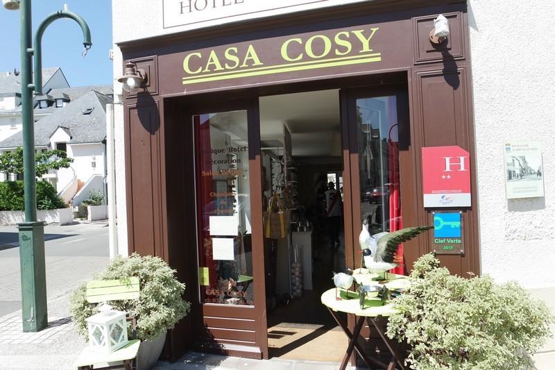 Façade du Casa Cosy - hôtel au Pouliguen