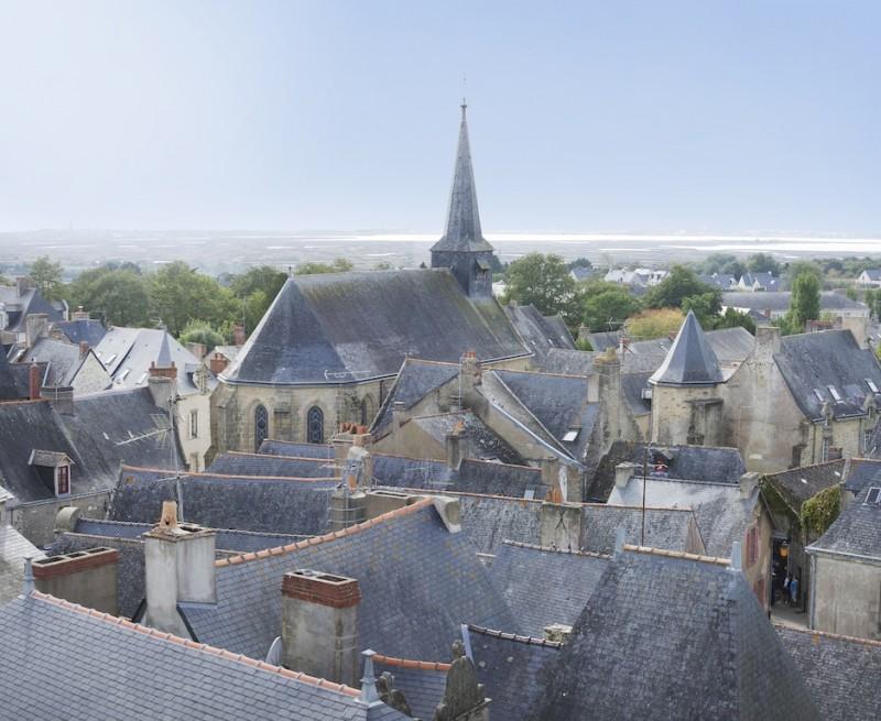 Guérande et la collégiale Saint-Aubin