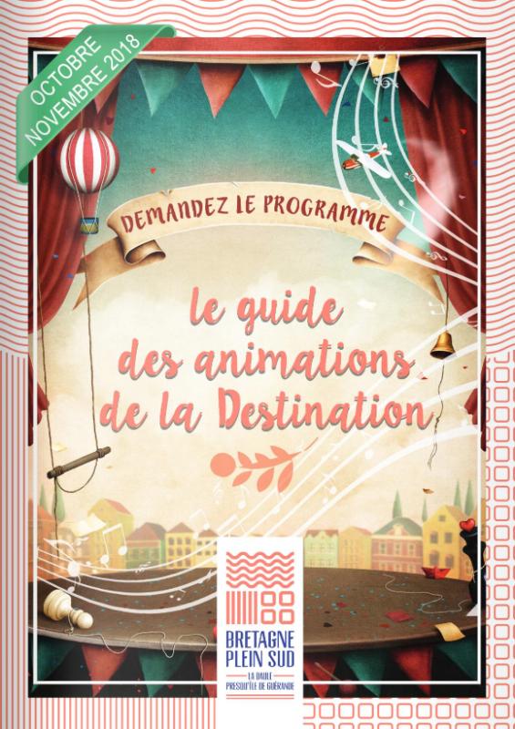 Guide des animations de la Destination La Baule - Presqu'île de Guérande