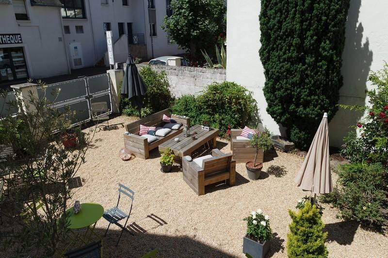 Jardin du Casa Cosy, hôtel au Pouliguen 2
