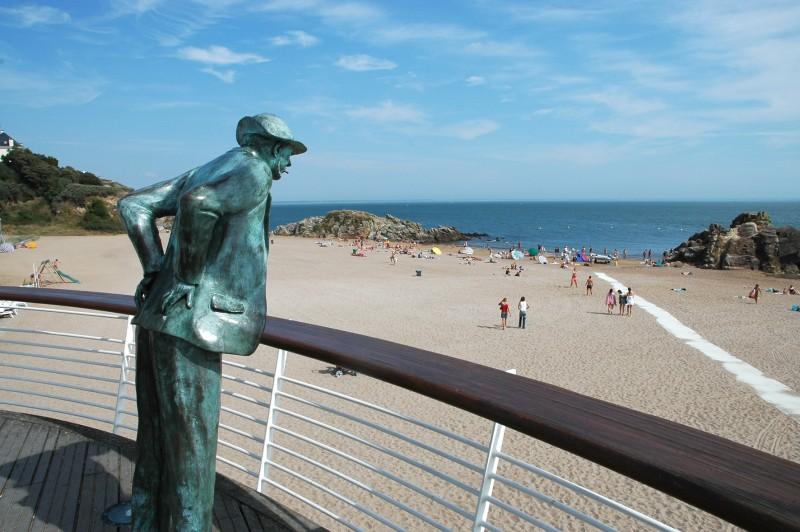 La plage de Monsieur Hulot à Saint-Nazaire