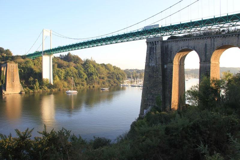 La Roche Bernard et son célèbre pont