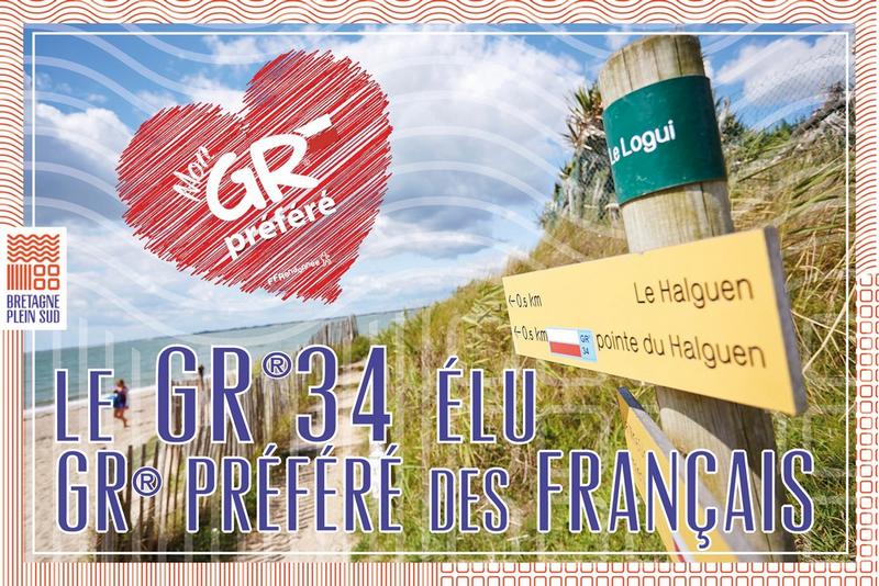 Le GR®34 élu GR® préféré des Français !