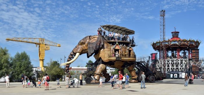 Le Grand Eléphant. Les Machines de l'île © Jean-Dominique Billaud/LVAN
