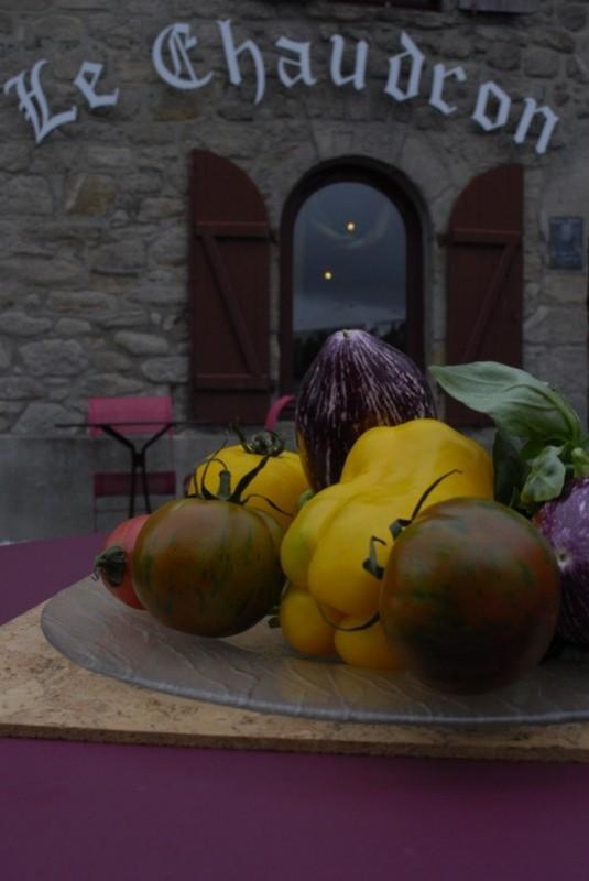 Légumes - Restaurant Le Chaudron à Herbignac 2