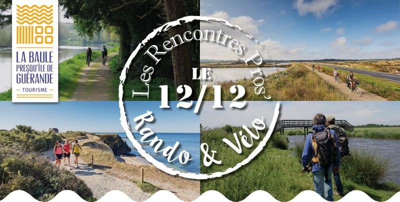 Les Rencontres Pros' Rando & Vélo 12/12/2019 Artymès Mesquer-Quimiac
