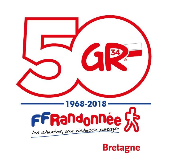 Logo 50 ans GR® 34