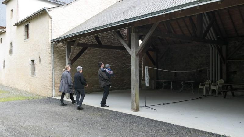Marie Le Goff - Gîte de la Matinais - visite de la location