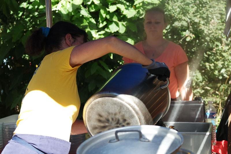 Moules frites à Kerhinet